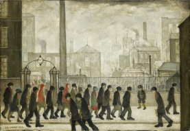 LS Lowry, Returning from work